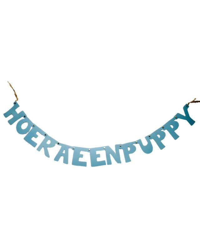 Hoera een puppy