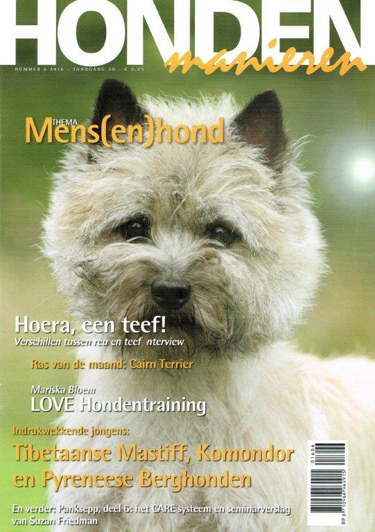 hondenmanieren nr 6 cover